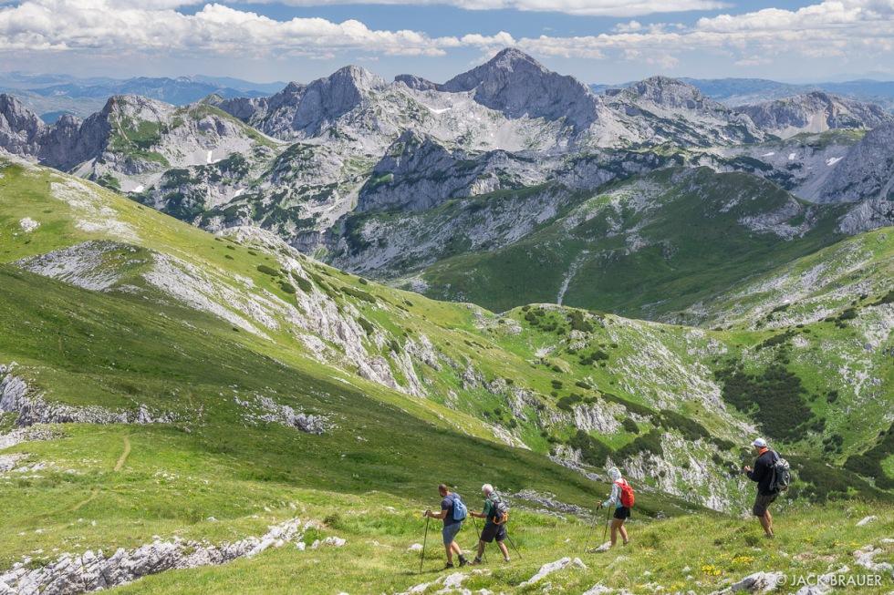 Als sluitstuk van onze tocht beklimmen we Maglic, de hoogste top van het land.